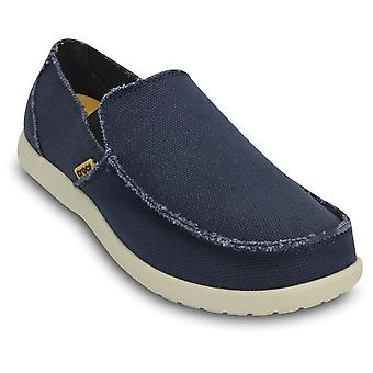 Crocs Mens Santa Cruz Loafer Navy