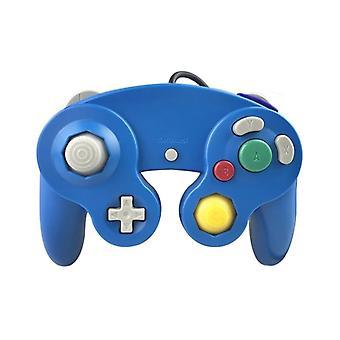 Contrôle de GameCube et Wii, bleu