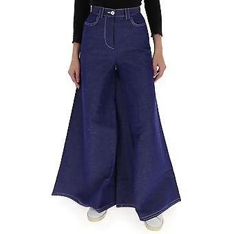 Sunnei Wt02ac501blue Femmes-apos;s Jeans en coton bleu