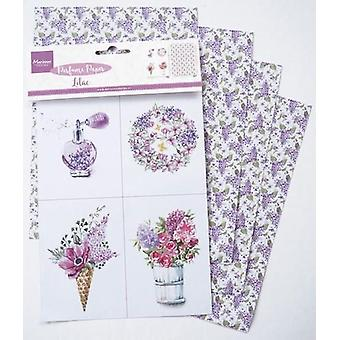 Marianne Design Decoration Perfumed paper lilac CA3131 16x27 cm