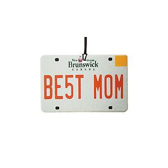 Nouveau-Brunswick - meilleure maman plaque d'immatriculation voiture assainisseur d'Air