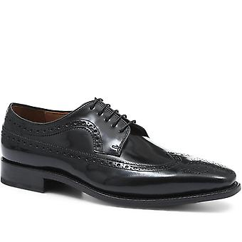 Jones Bootmaker Goodyear Welted Leather Derby Brogue Shoes