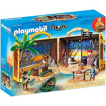 Playmobil 70150 Pirates Take Along Pirate Treasure Island