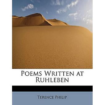 Poems Written at Ruhleben by Philip & Terence