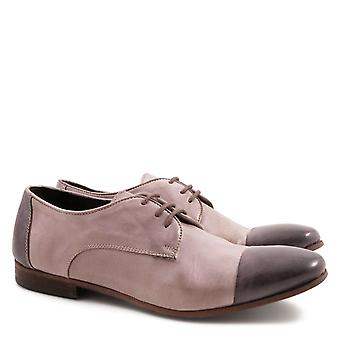 Handmade women's derby shoes Made in Italy