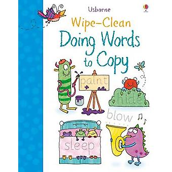 WipeClean Doing Words to Copy by Watson & Hannah