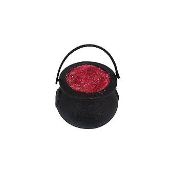 Gothic Homeware Witch's Blood Red Glitter Cauldron Bath Bomb