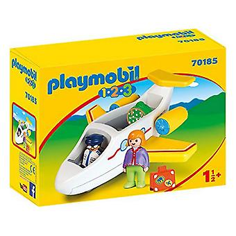 Playset 1.2.3 Avião Playmobil 70185 (5 pcs)