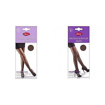 Silky Womens/Ladies Light Support Tights (1 Pair)