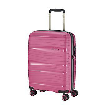 Travelite Motion Carro de Equipaje de Mano para Mujer S, 4 Ruedas, 55 cm, 37 L, Rosa