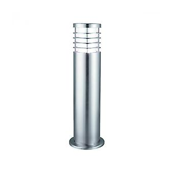 Outdoor Lights Bollard, Stainless Steel And Polycarbonate