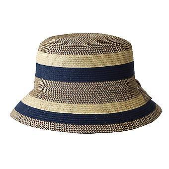 Jacaru 1751 randig kort brätte hatt