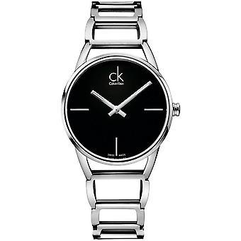 Calvin Klein K3G23121 Stately Quartz Black Dial Ladies Watch