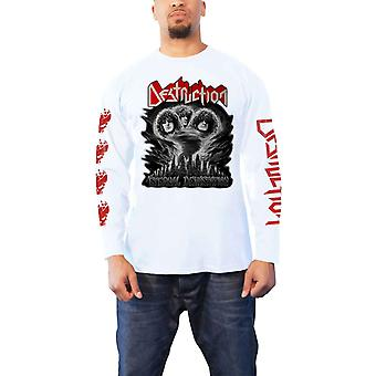 Destruction T Shirt Eternal Devastation nouvelle Manche blanche officielle mens