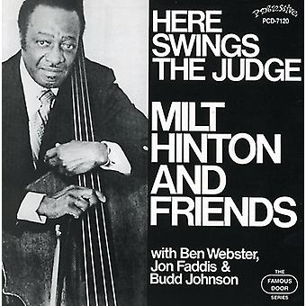 Milt Hinton & Friends - Here Swings the Judge [CD] USA import