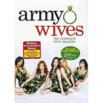 Army Wives: The Complete Fifth Season [DVD] USA import
