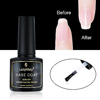 Base Coat Gel Fast Dry Base Gel - Nail Polish, Nail Art Soak Off Long Lasting