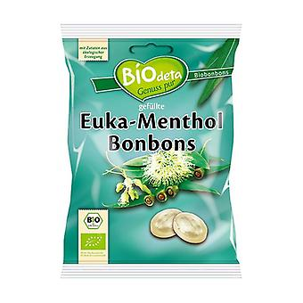 Biodeta Candies with eucalyptus and menthol 75 g