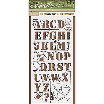 Stamperia Paksu Kaavain 12x25cm Alfabet