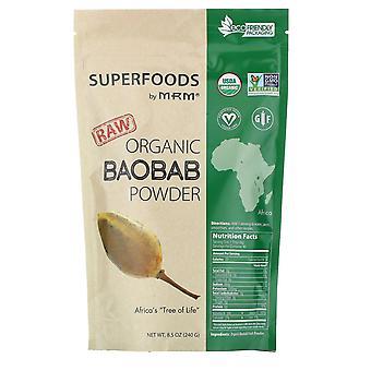 MRM, Raw Organic Baobab Powder, 8.5 oz (240 g)