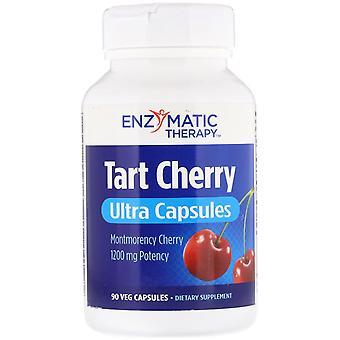 Enzymatic Therapy, Tart Cherry, Ultra Capsules, 1,200 mg, 90 Veg Capsules