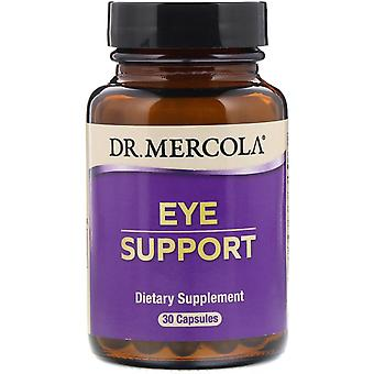 Dr. Mercola, Ögonstöd, 30 kapslar