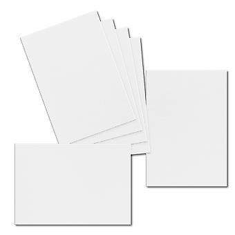 تأثير الأبيض. 115mm × 165mm. بطاقة المعايدة. 250gsm ورقة بطاقة.