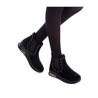 Xti - Shoes - Ankle boots - 49357_BLACK - Ladies - Schwartz - EU 40