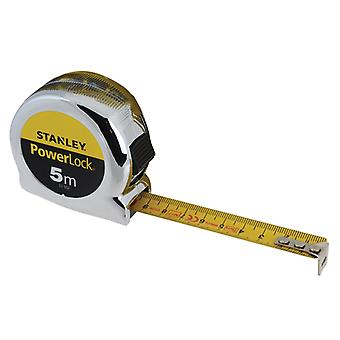 Stanley Tools PowerLock Classic Pocket Tape 5m (19mm) (Metric) STA033552
