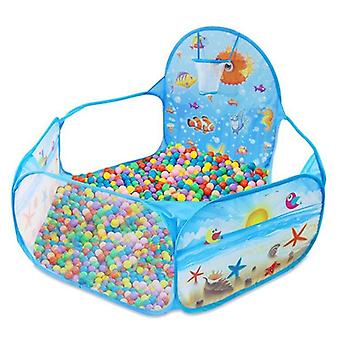 Ocean Series Cartoon Game, Ball Pits Portable Pool, Foldable For Outdoor Sports