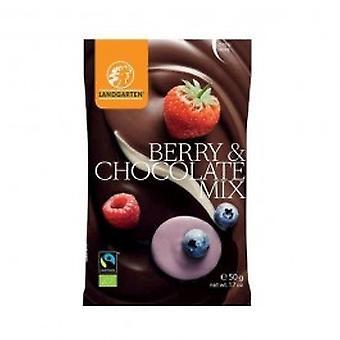 Landgarten - Organic Berry & Chocolate Mix 50g (10 pack)