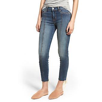 Hudson | Raw-Hem Skinny Jeans