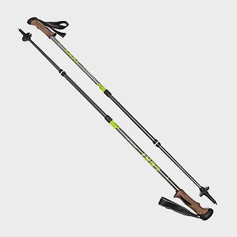 Nouveau Leki Trail Antishock 2020 Walking Pole (Paire) Gris