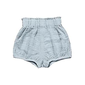 Newborn Baby Bloomers Shorts Pp Pants Cotton Linen Triangle Solid Dot Girls Shorts Summer Trouser