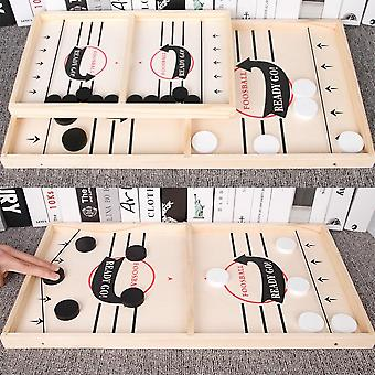Table Fast Hockey Sling Puck Game, Toys Party Game For Adult, Child, Family
