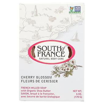 South Of France Soaps Cherry Blossom Bar Soap, 6 Oz