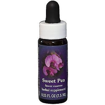 Flower Essence Tjänster Sweet Pea Dropper, 0,25 oz