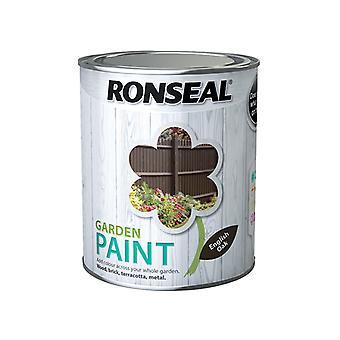 Ronseal Garden Paint English Oak 750ml RSLGPEO750