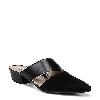 Naturalizer Womens Bev Leather Peep Toe Mules