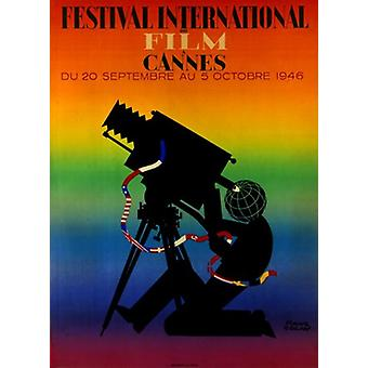 Cannes International Film Festival filmposter (11 x 17)