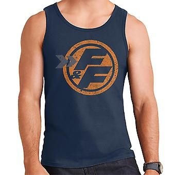 Fast and Furious Orange FF Icon Men's Vest