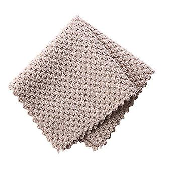 Efficient Super Absorbent Microfiber Cleaning Cloth For Kitchen