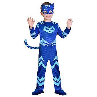 Amscan 9902953 -catboy rochie de lux pjmasks, albastru 5 ani