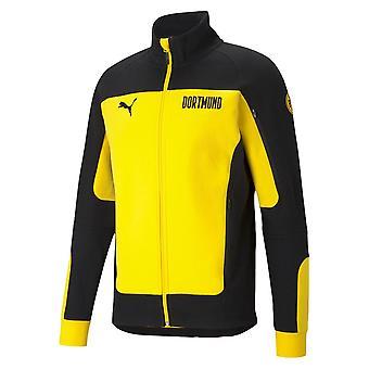 2020-2021 Borussia Dortmund Evostripe Takki (keltainen)