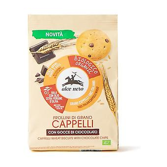 Cappelli wheat shortbread with organic chocolate drops None