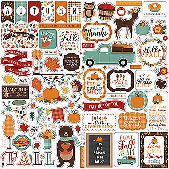 Echo Park Happy Fall 12x12 Inch Element Sticker