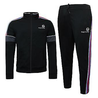 Sergio Tacchini Mens Darcy Trening Lounge Track Top Pantaloni Negru 38365 192