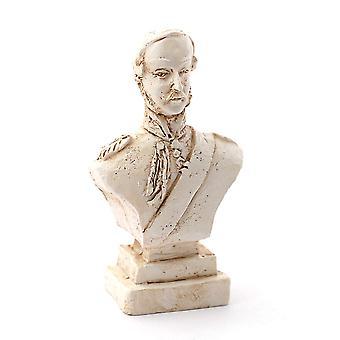 Nukkekoti Prinssi Albert Bust Koriste Miniatyyri Olohuone Lisälaite 1:12