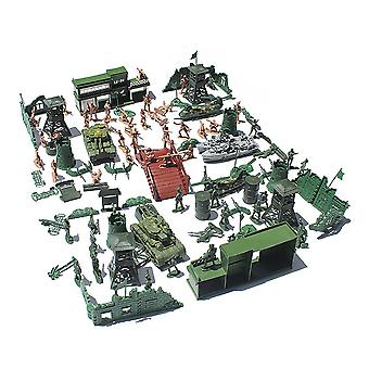 Military sand table scene military base Plastic soldiers 5cm for C Crops Army
