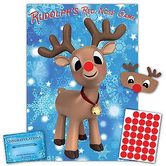 Karácsonyi családi játék - rudolph's piros orr- család, gyerekek, irodai karácsony party játék - 35 játékos - #x
